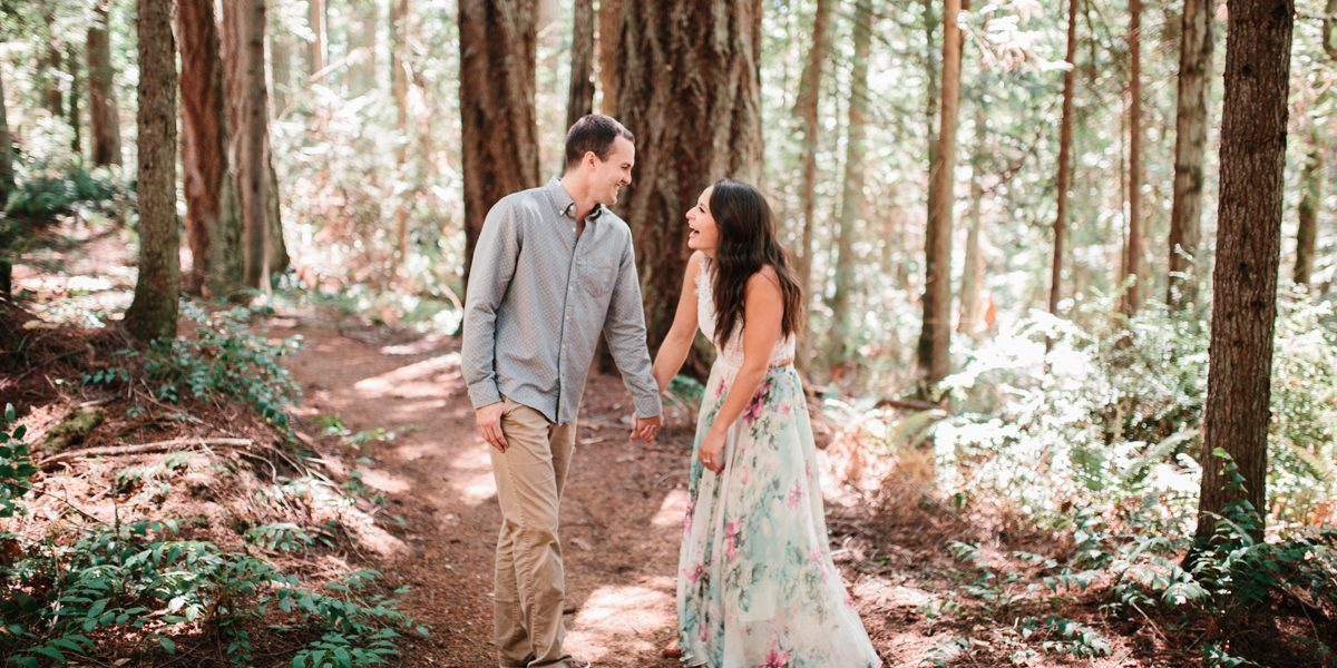 Molly & Blake - Bainbridge Island Engagement Session
